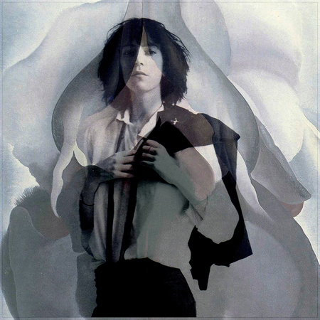 'Patti with O'Keeffe' - 2014 (in collaboration with Rivers Scott Fisher)