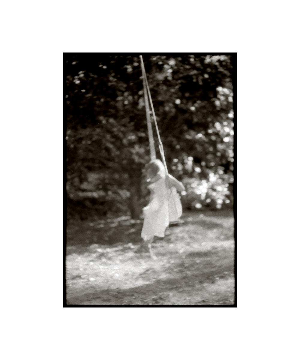 'Girl on a Swing' - 